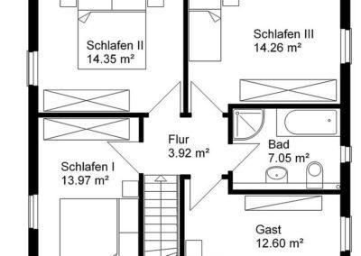 giebelhaus hanseatisch g1 grundriss2