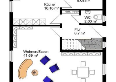 giebelhaus hanseatisch g3 grundriss1